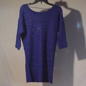 So Lurex Women's Sweater Tunic